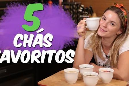 OS 5 MELHORES CHÁS | DIURÉTICO NATURAL, CALMANTE, TERMOGÊNICO, DIGESTIVO...