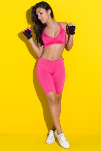 Bermuda Ciclista Suplex (Rosa Pink) | Ref: KS-F1338-013