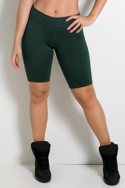 Bermuda Ciclista Suplex (Verde Escuro) | Ref: KS-F1338-016