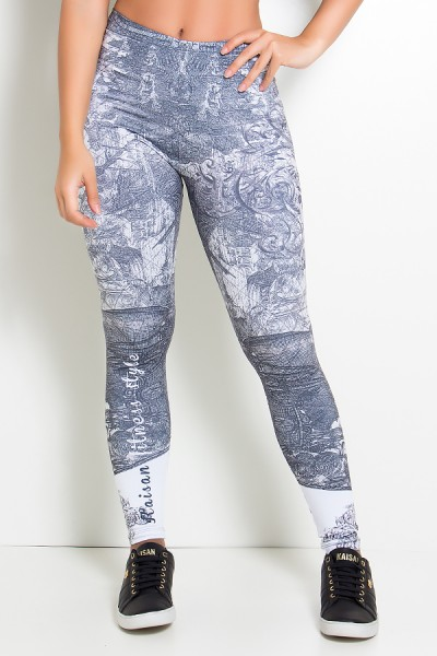 Legging Ancient Maps Sublimada | Ref: KS-F2010