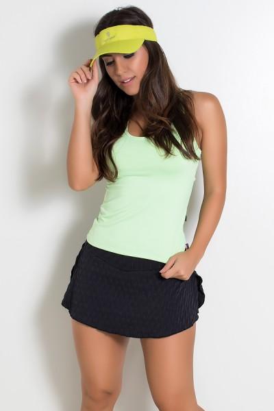 Camiseta Fitness Júlia Suplex (Verde Claro) | Ref: KS-F39-004