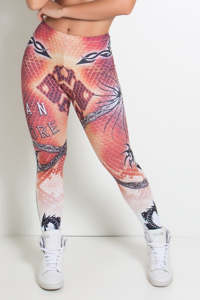 Legging Dragon Tribal Sublimada | Ref: KS-F1949