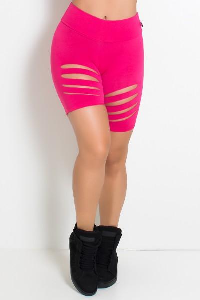 Bermuda Shakira Rasgada (Rosa Pink) | Ref: KS-F357-007
