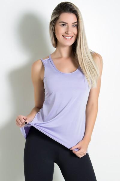 KS-F1022-006_Camiseta_de_Microlight_Nadador_com_Alca_Dupla_Lilas_Claro__Ref:_KS-F1022-006