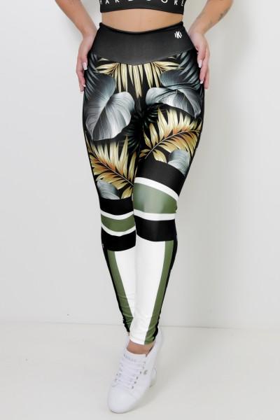 Calça Legging Sublimada Majestic Hardcore Fitness   Ref: CA443-041-000