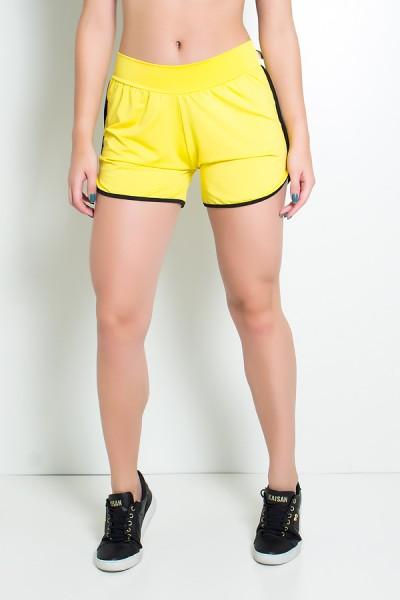 Short Lindsay (Amarelo / Preto) | Ref: KS-F509-002