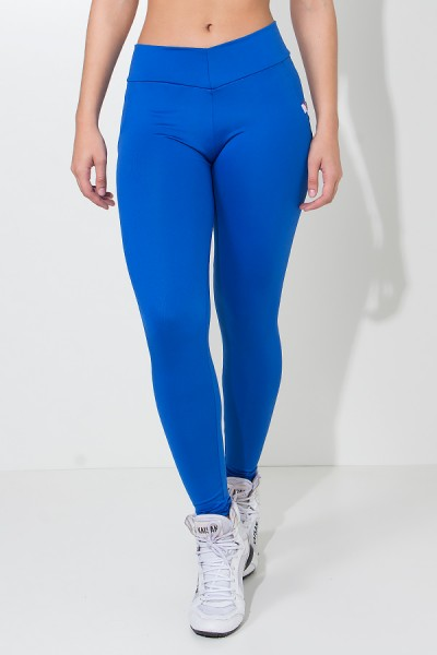 Calça Levanta Bumbum com Bolso (Azul Royal) | Ref: KS-F488-002