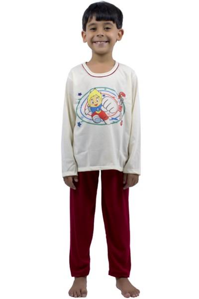 Pijama Infantil Manga Longa 140 | Ref: P72