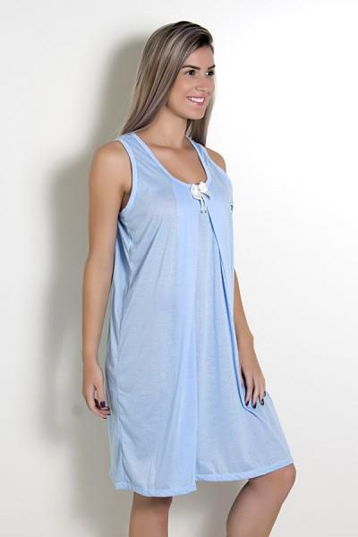 Camisola de amamentação 212 (Azul) | Ref: CEZ-CM08-001