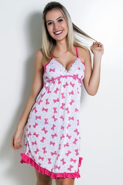Camisola 066 (Pink Lacinho) - AB