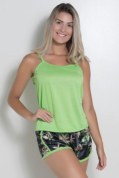 Babydoll Feminino 067 (Verde) AB