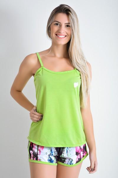Babydoll Feminino 067 (Verde)