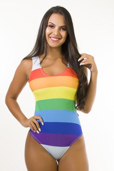 Body Sublimado Cavado nas Costas (Rainbow Stripes) | Ref: BDY118-041/002/000