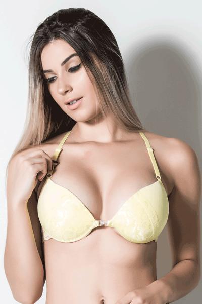 Soutien Lorena 801 Amarelo   Ref: CEZ-DK801-002