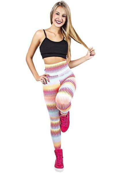 Legging Estampada Setas Coloridas 7 | Ref: CA505