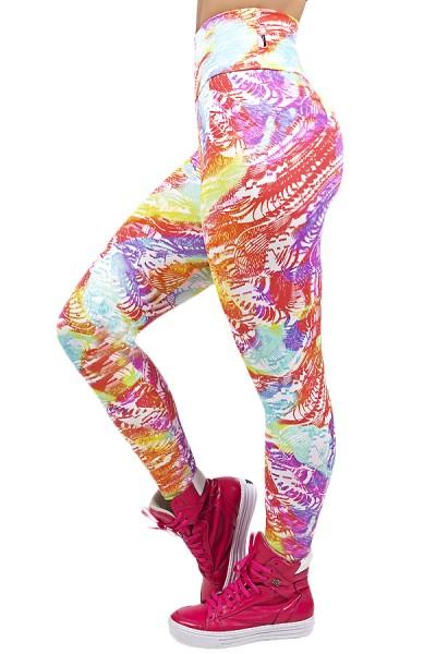 Legging Estampada Abstrato Colorido 3 | Ref: CA502