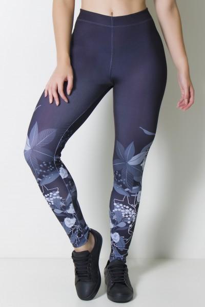 Calça Legging Sublimada Scrawl   Ref: CAL375-041