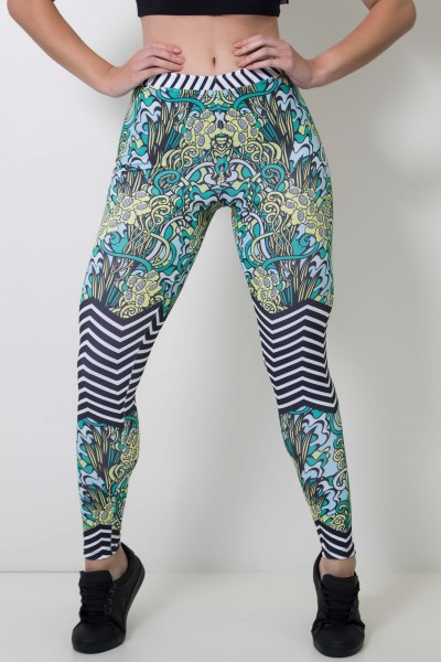 Calça Feminina Legging Shrubs Style | Ref: CAL404-041