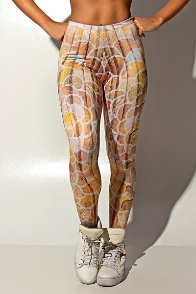 Legging Wood Art Sublimada | Ref: F1207