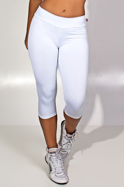Calça Corsário Suplex (Branco)