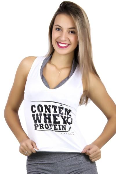 Camiseta de Poliéster Nadador (Contém Whey Protein) | Ref: F51