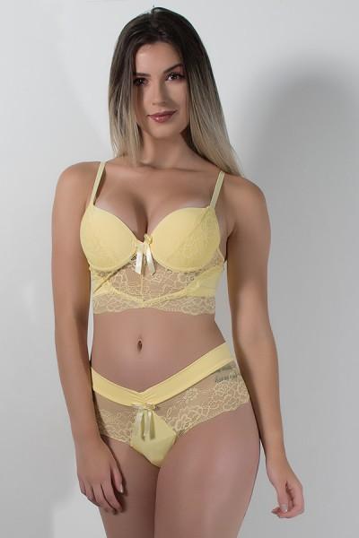 Conjunto Ana Clara 503 (Amarelo) | Ref: CEZ-TT503-007