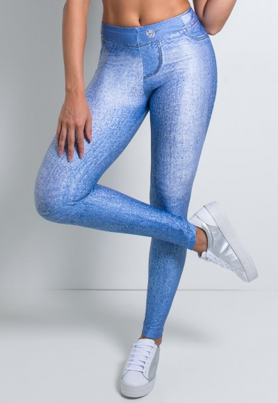 Legging Jeans Clara Sublimada | Ref: KS-F1028-001
