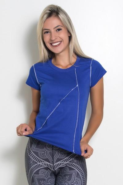 Camiseta de Malha com Ponto de Cobertura | Ref: KS-F1037