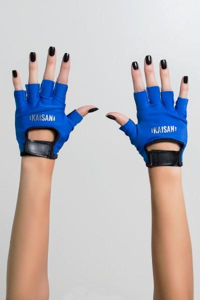 Luva Color Kaisan (Azul Royal / Preto)   Ref: KS-F1824-002