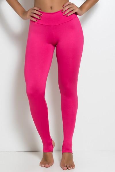 Legging Lisa com Pezinho (Rosa Pink) | Ref: KS-F216-002