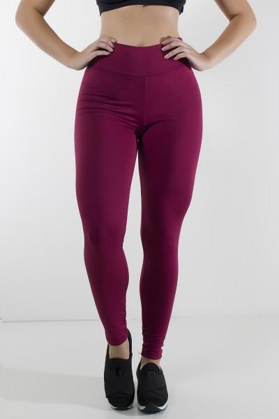Legging Lisa Suplex Vinho | Ref: KS-F23-002