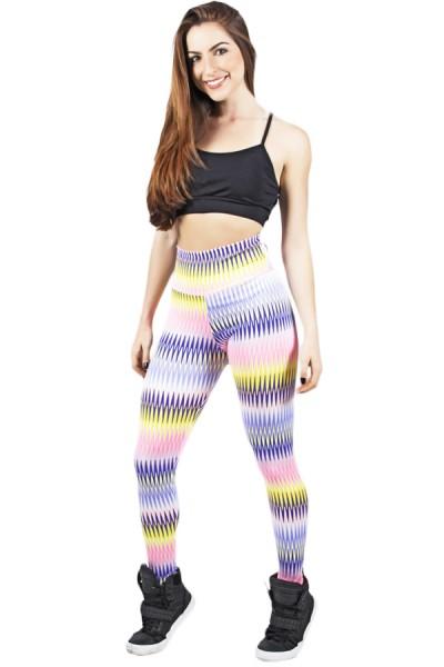 Legging Estampada Setas Coloridas 6 | Ref: CA459