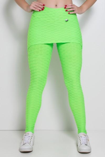 Legging com Tapa Bumbum Bolha Fluor | Ref: KS-F302