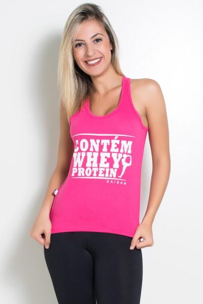Camiseta de Malha Nadador (Contém whey protein) | Ref: KS-F317