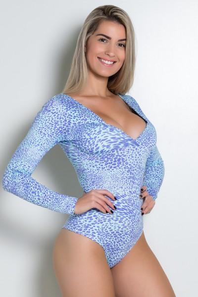 Body Angelina Estampado com Bojo   Ref: KS-F406