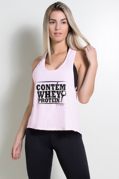 Camiseta de Microlight Eva (Contém Whey Protein) | Ref: KS-F438