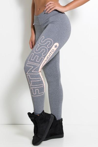 Legging Mescla (Fitness Kaisan em Movimento) Ref: KS-F575