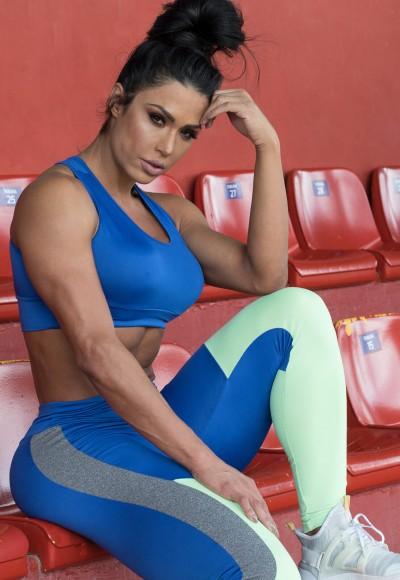 Top Eliane Liso (Azul Royal) | Ref: KS-F673-002