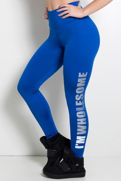 Calça Legging (Im Wholesome) (Azul Royal) | Ref: KS-F710-003