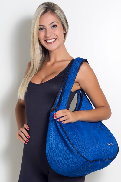 Bolsa Fitness Azul Royal | Ref: KS-F781-002