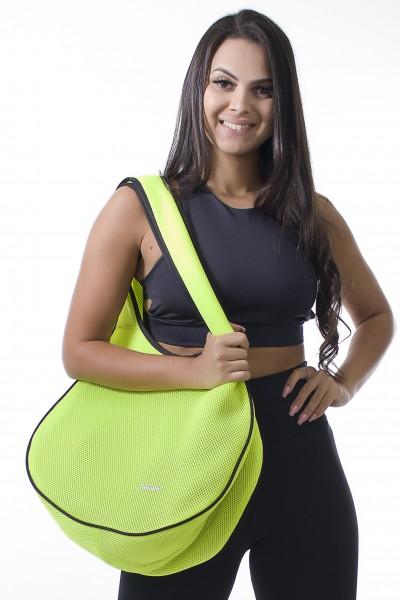 Bolsa Fitness Amarelo Limão | Ref: F788