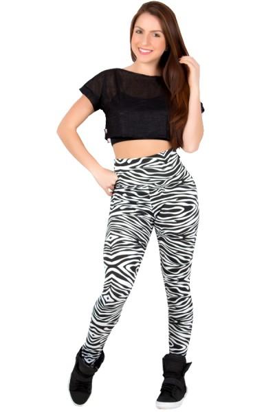 Legging Estampada Zebra 2 | Ref: CA376