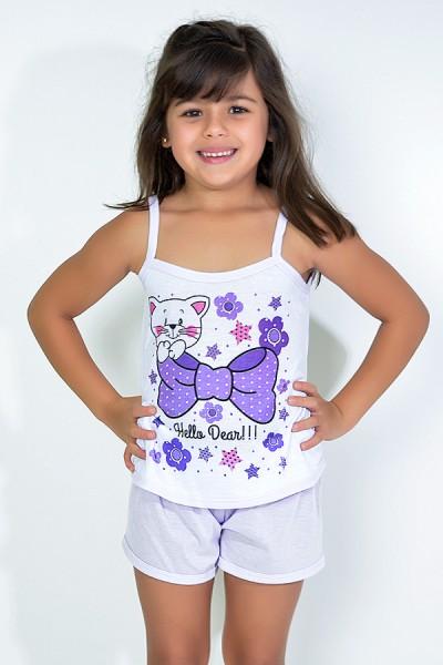 Babydoll Infantil 035 (Lilás)