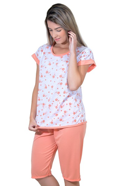 Pijama Pescador 032 (Salmão)