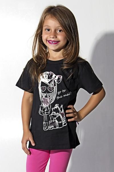 Camiseta de Malha Infantil | Ref: R61