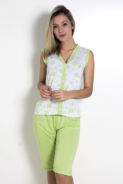 Pijama Pescador 098 (Verde)