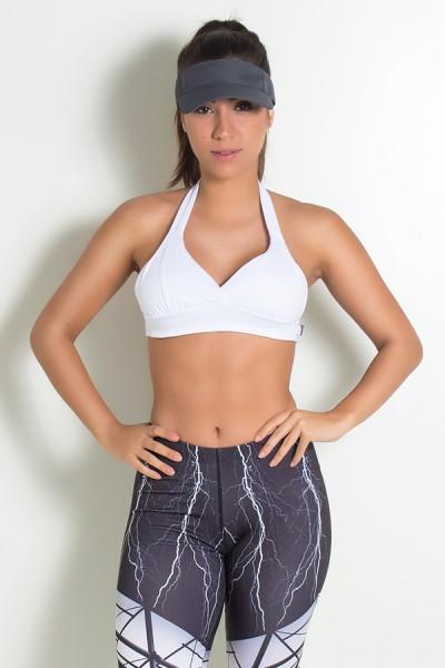 Top de Malha Isadora Branco | Ref: KS-F1005-002