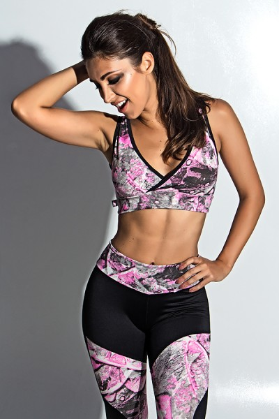 Top Fitness Estampado | Ref: KS-F495