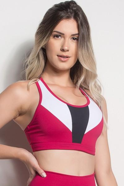 Top Nadador 3 Cores (Rosa Pink / Branco / Preto) | Ref: TPP249-006/002/001