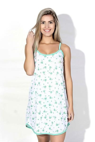 Camisola 026 (Verde flores)